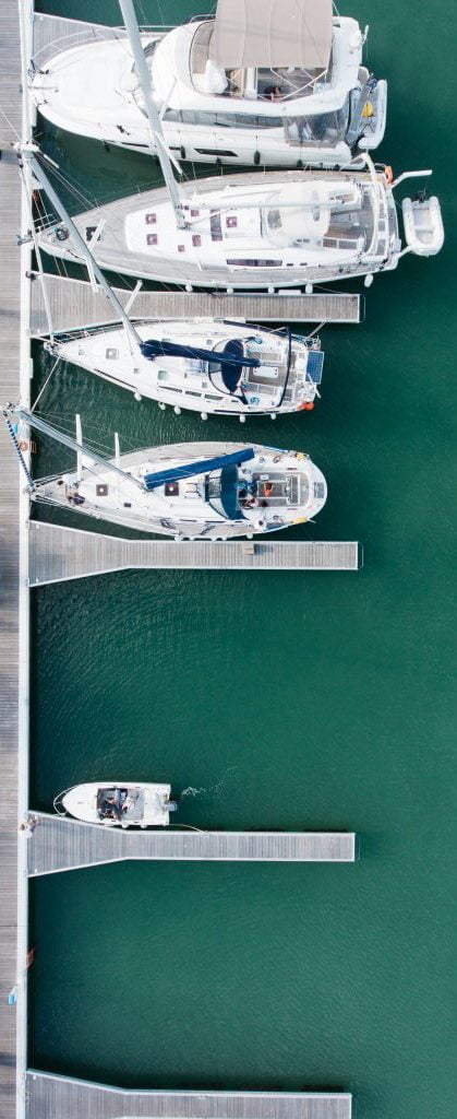 Beautiful Boats on shore by Watertight Boating in Vancouver - Boat Mechanic